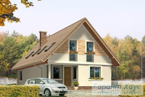 Проект одноквартирного дома № 166