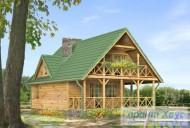 78-proekt.ru - Проект Одноквартирного Дома №293.  Вид №2