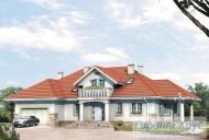 78-proekt.ru - Проект Двухквартирного Дома №27.  Вид №1