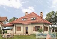 78-proekt.ru - Проект Одноквартирного Дома №257.  Вид №2