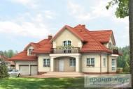 78-proekt.ru - Проект Одноквартирного Дома №240.  Вид №1