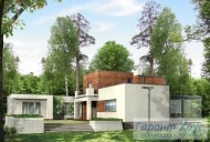 78-proekt.ru - Проект Одноквартирного Дома №25.  Вид №2