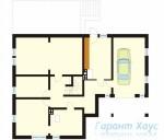 78-proekt.ru - Проект Одноквартирного Дома №249.  План Подвала