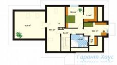 78-proekt.ru - Проект Одноквартирного Дома №40.  План Второго Этажа