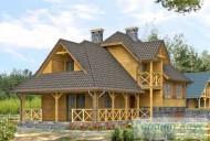 78-proekt.ru - Проект Одноквартирного Дома №158.  Вид №2