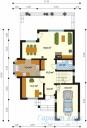 78-proekt.ru - Проект Одноквартирного Дома №106.  План Первого Этажа