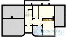 78-proekt.ru - Проект Одноквартирного Дома №157.  План Подвала