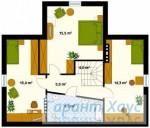 78-proekt.ru - Проект Одноквартирного Дома №217.  План Второго Этажа