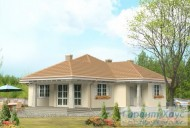 78-proekt.ru - Проект Одноквартирного Дома №55.  Вид №2