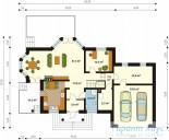 78-proekt.ru - Проект Одноквартирного Дома №15.  План Первого Этажа