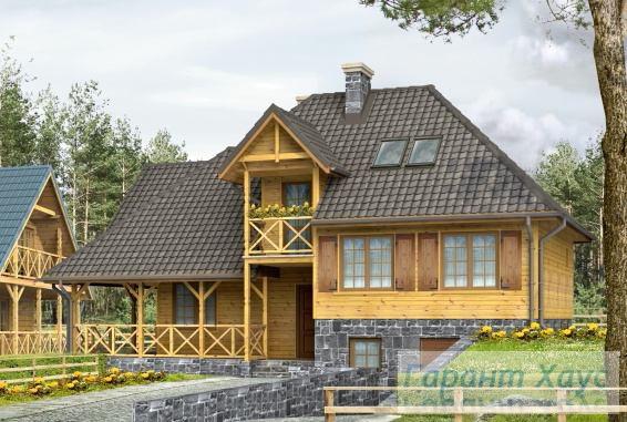 Проект одноквартирного дома № 158