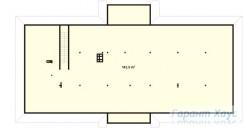 78-proekt.ru - Проект Одноквартирного Дома №235.  План Второго Этажа