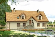 78-proekt.ru - Проект Одноквартирного Дома №157.  Вид №2