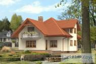 78-proekt.ru - Проект Одноквартирного Дома №106.  Вид №2