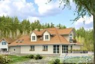 78-proekt.ru - Проект Одноквартирного Дома №321.  Вид №2