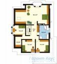 78-proekt.ru - Проект Одноквартирного Дома №253.  План Второго Этажа