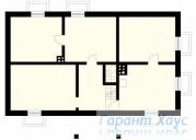 78-proekt.ru - Проект Одноквартирного Дома №343.  План Подвала