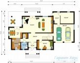 78-proekt.ru - Проект Одноквартирного Дома №7.  План Первого Этажа