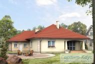 78-proekt.ru - Проект Одноквартирного Дома №54.  Вид №2