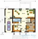 78-proekt.ru - Проект Одноквартирного Дома №71.  План Первого Этажа