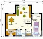 78-proekt.ru - Проект Одноквартирного Дома №217.  План Первого Этажа
