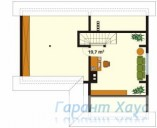 78-proekt.ru - Проект Одноквартирного Дома №281.  План Второго Этажа