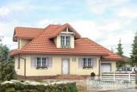 Проект одноквартирного дома № 75