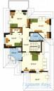78-proekt.ru - Проект Одноквартирного Дома №62.  План Второго Этажа
