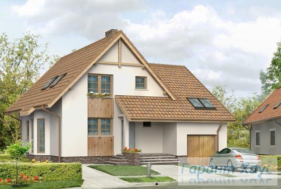 Проект одноквартирного дома № 341