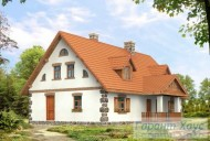 78-proekt.ru - Проект Одноквартирного Дома №343.  Вид №2