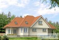 78-proekt.ru - Проект Одноквартирного Дома №245.  Вид №2
