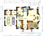 78-proekt.ru - Проект Одноквартирного Дома №240.  План Первого Этажа