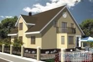 78-proekt.ru - Проект Одноквартирного Дома №297.  Вид №2