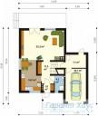 78-proekt.ru - Проект Одноквартирного Дома №270.  План Первого Этажа