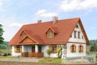 78-proekt.ru - Проект Одноквартирного Дома №342.  Вид №1