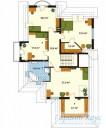 78-proekt.ru - Проект Одноквартирного Дома №61.  План Второго Этажа