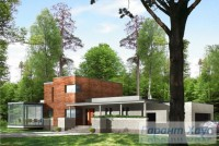 Проект одноквартирного дома № 25