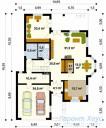 78-proekt.ru - Проект Одноквартирного Дома №139.  План Первого Этажа