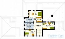 78-proekt.ru - Проект Одноквартирного Дома №30.  План Второго Этажа