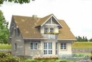 78-proekt.ru - Проект Одноквартирного Дома №168.  Вид №2