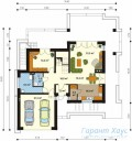 78-proekt.ru - Проект Одноквартирного Дома №21.  План Первого Этажа