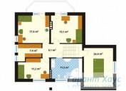 78-proekt.ru - Проект Одноквартирного Дома №242.  План Второго Этажа