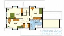 78-proekt.ru - Проект Одноквартирного Дома №82.  План Второго Этажа