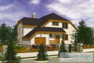 78-proekt.ru - Проект Одноквартирного Дома №305.  Вид №1