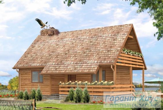 Проект дачного дома № 3