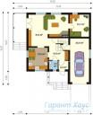 78-proekt.ru - Проект Одноквартирного Дома №306.  План Первого Этажа