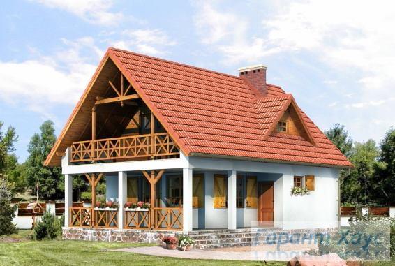 Проект одноквартирного дома № 292