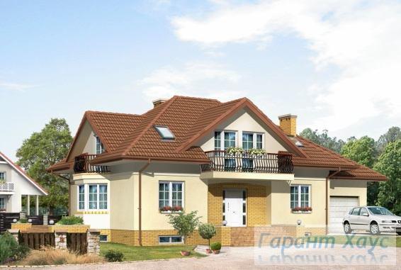 Проект одноквартирного дома № 156