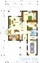 78-proekt.ru - Проект Одноквартирного Дома №52.  План Первого Этажа