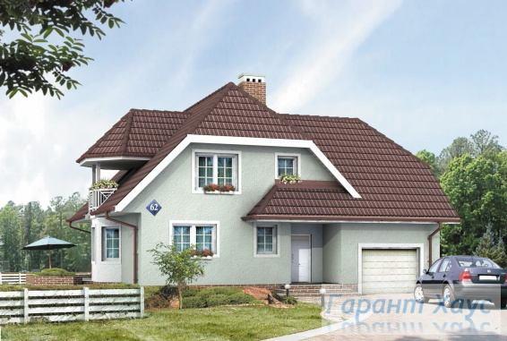 Проект одноквартирного дома № 152